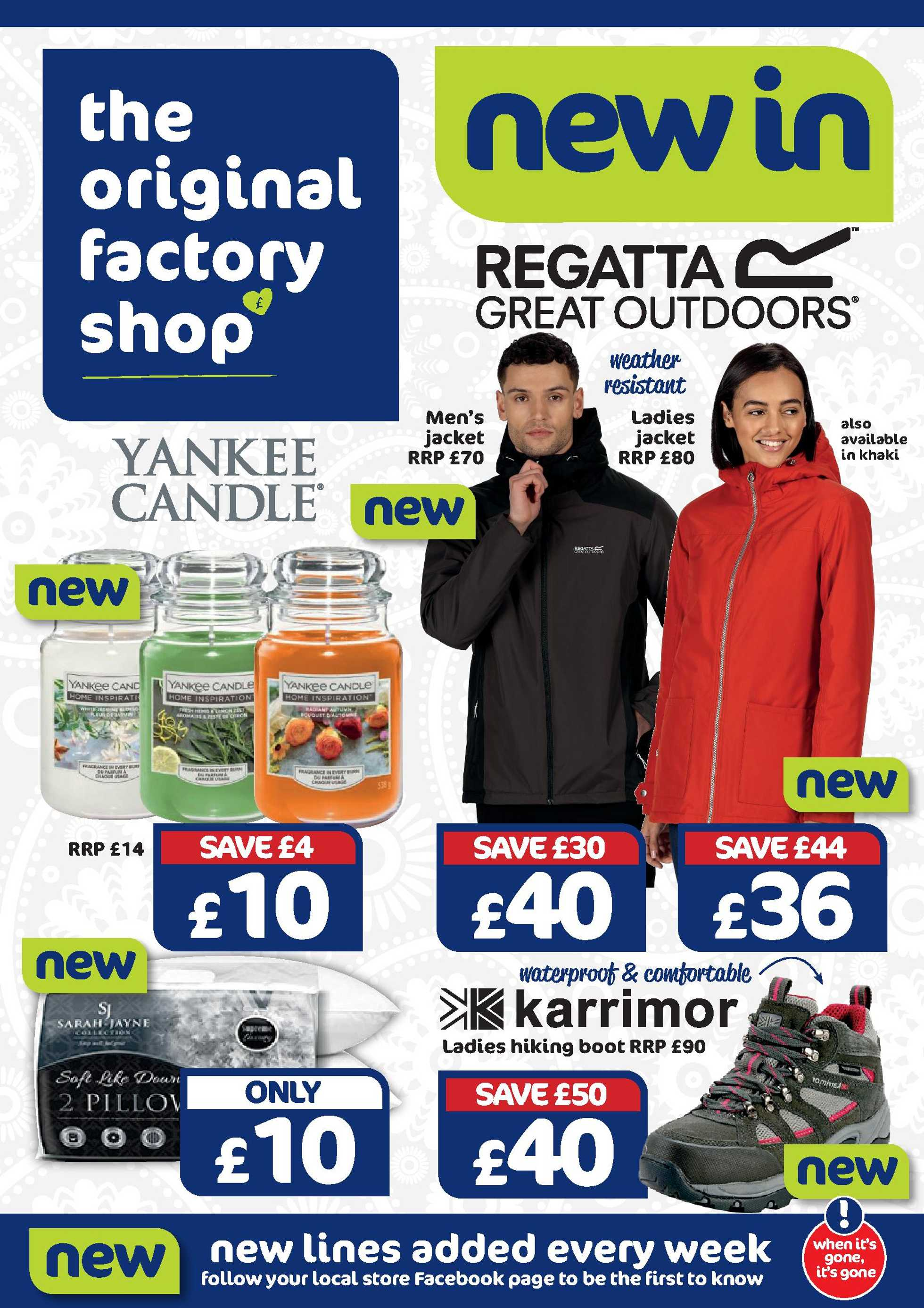 The original factory shop - deals are valid from 08.10.2020 to 21.10.2020 - page 1.