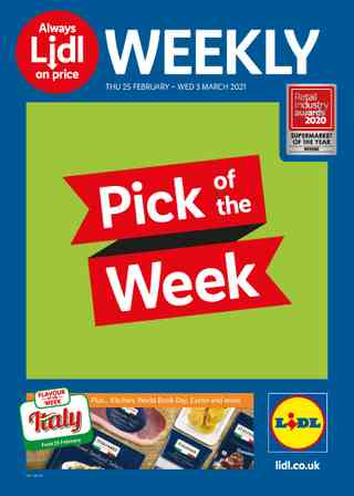 Promo from Lidl valid from 25-02-2021 to 03-03-2021