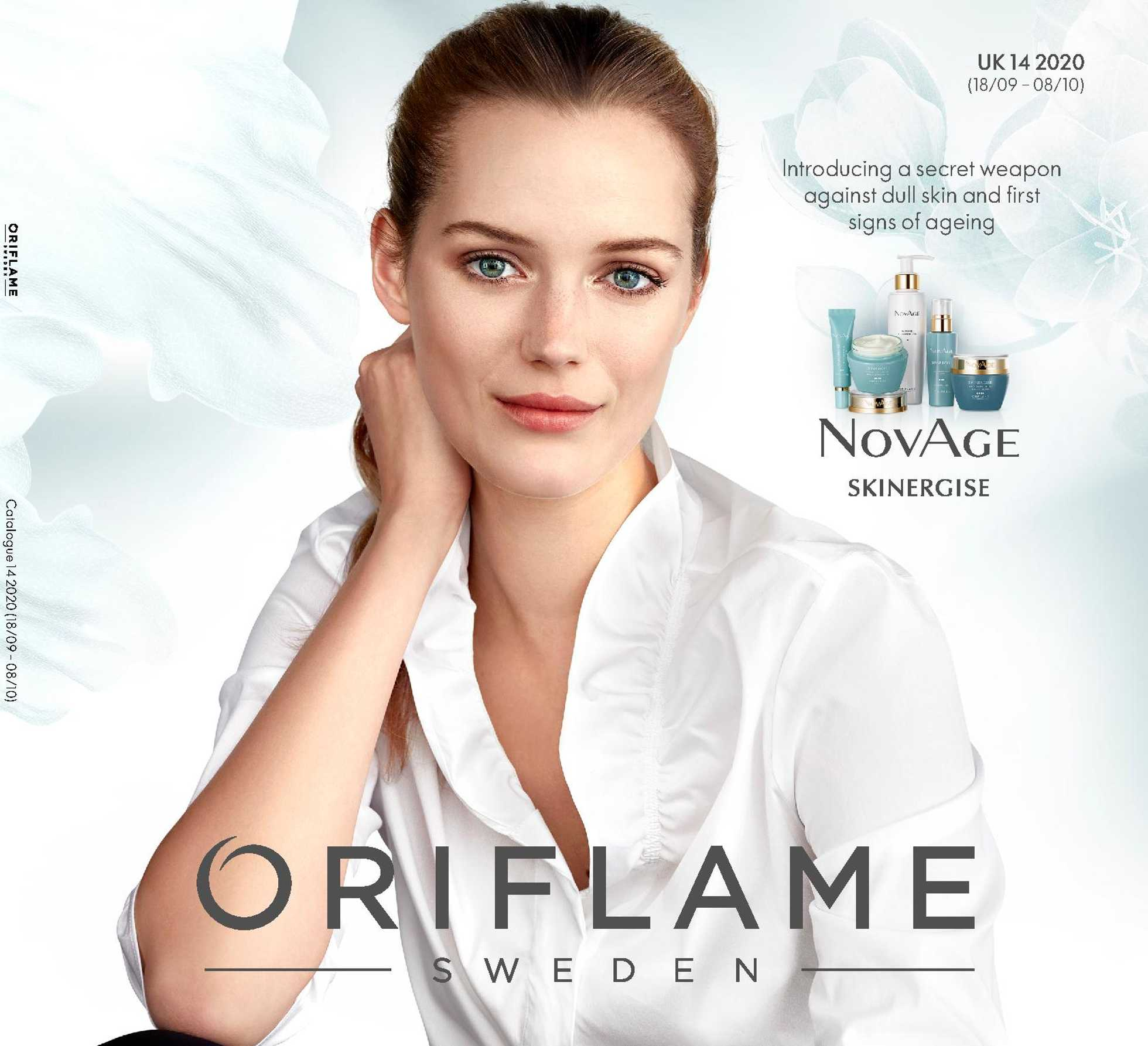Oriflame Cosmetics - deals are valid from 18.09.2020 to 08.10.2020 - page 1.