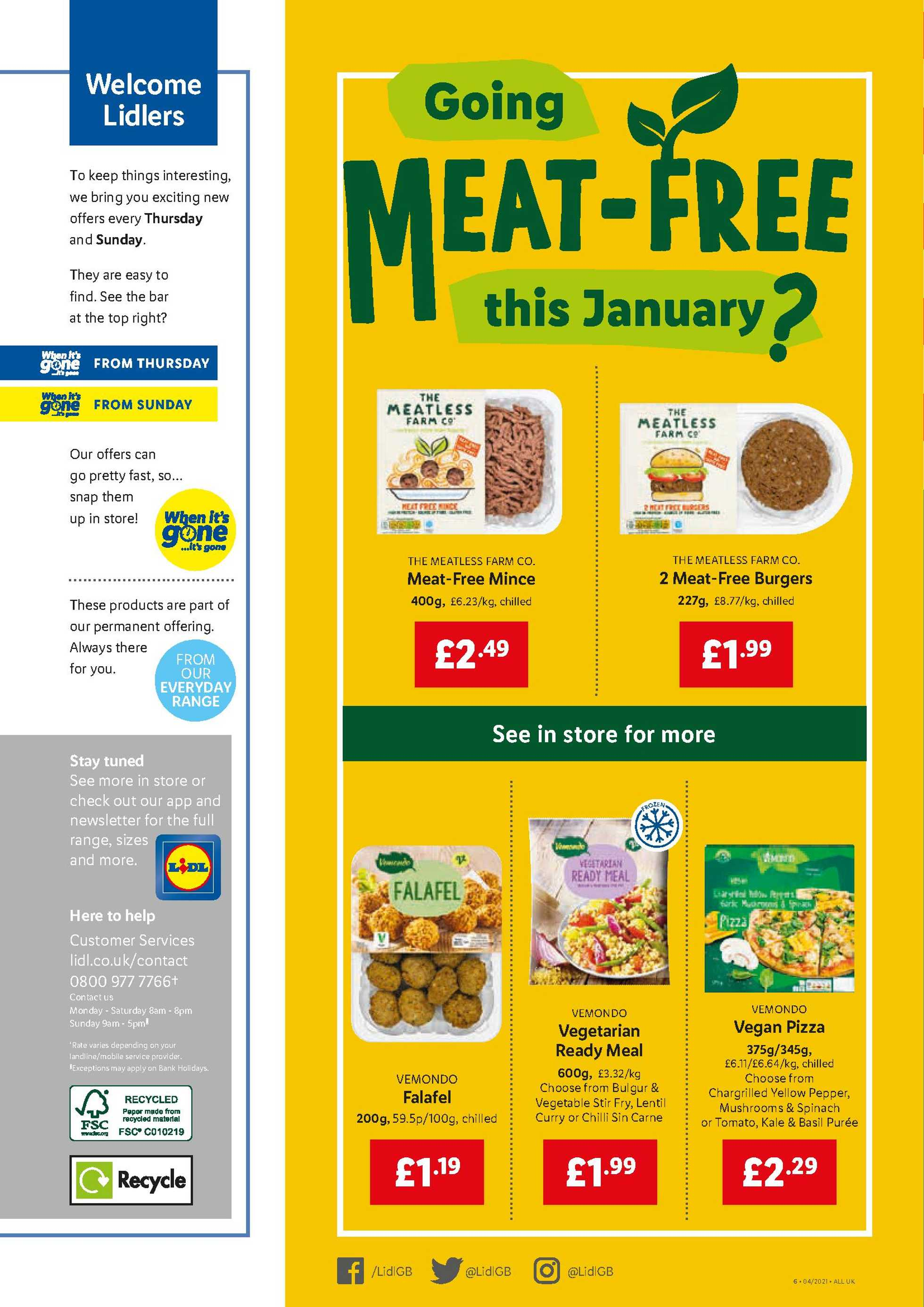 Lidl - deals are valid from 28.01.2021 to 03.02.2021 - page 4.