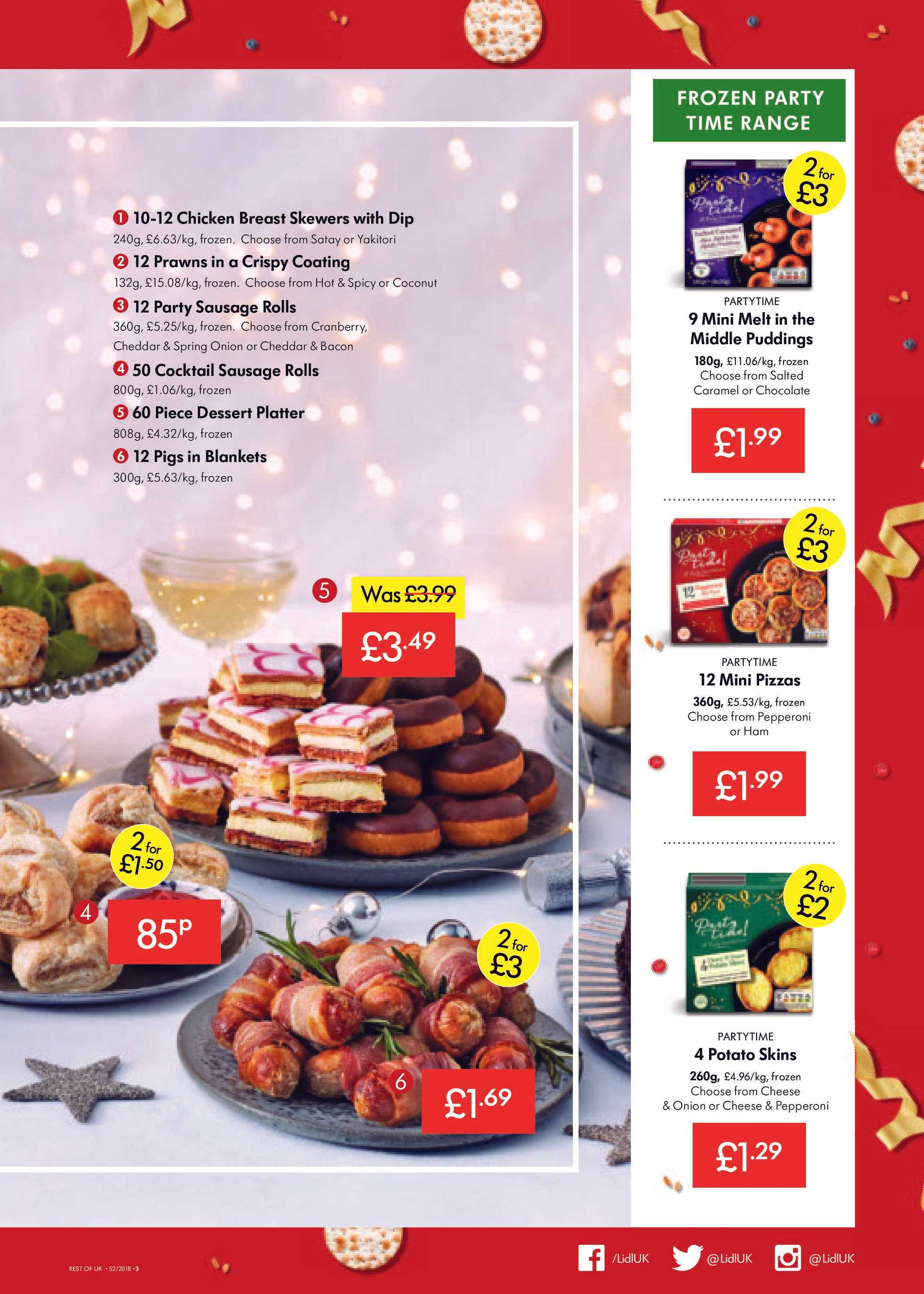 Current Leaflet Of Lidl Ukpromotonscom