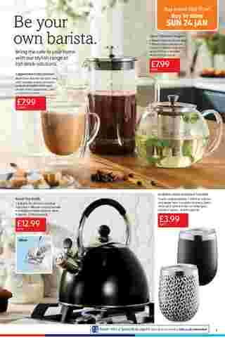 Aldi UK - deals are valid from 18.01.2021 to 24.01.2021 - page 11.