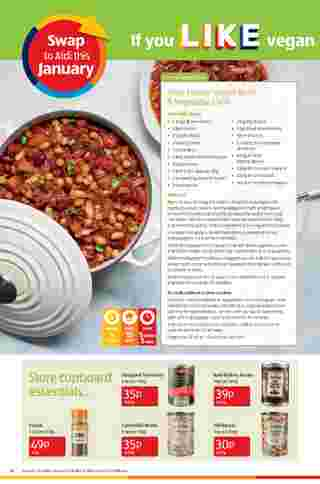 Aldi UK - deals are valid from 18.01.2021 to 24.01.2021 - page 16.