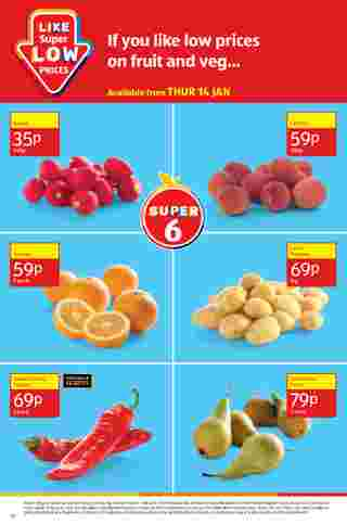 Aldi UK - deals are valid from 18.01.2021 to 24.01.2021 - page 18.