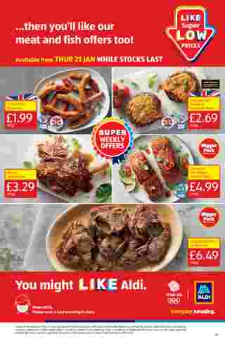 Aldi UK - deals are valid from 18.01.2021 to 24.01.2021 - page 19.
