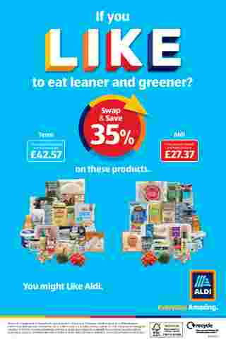Aldi UK - deals are valid from 18.01.2021 to 24.01.2021 - page 20.