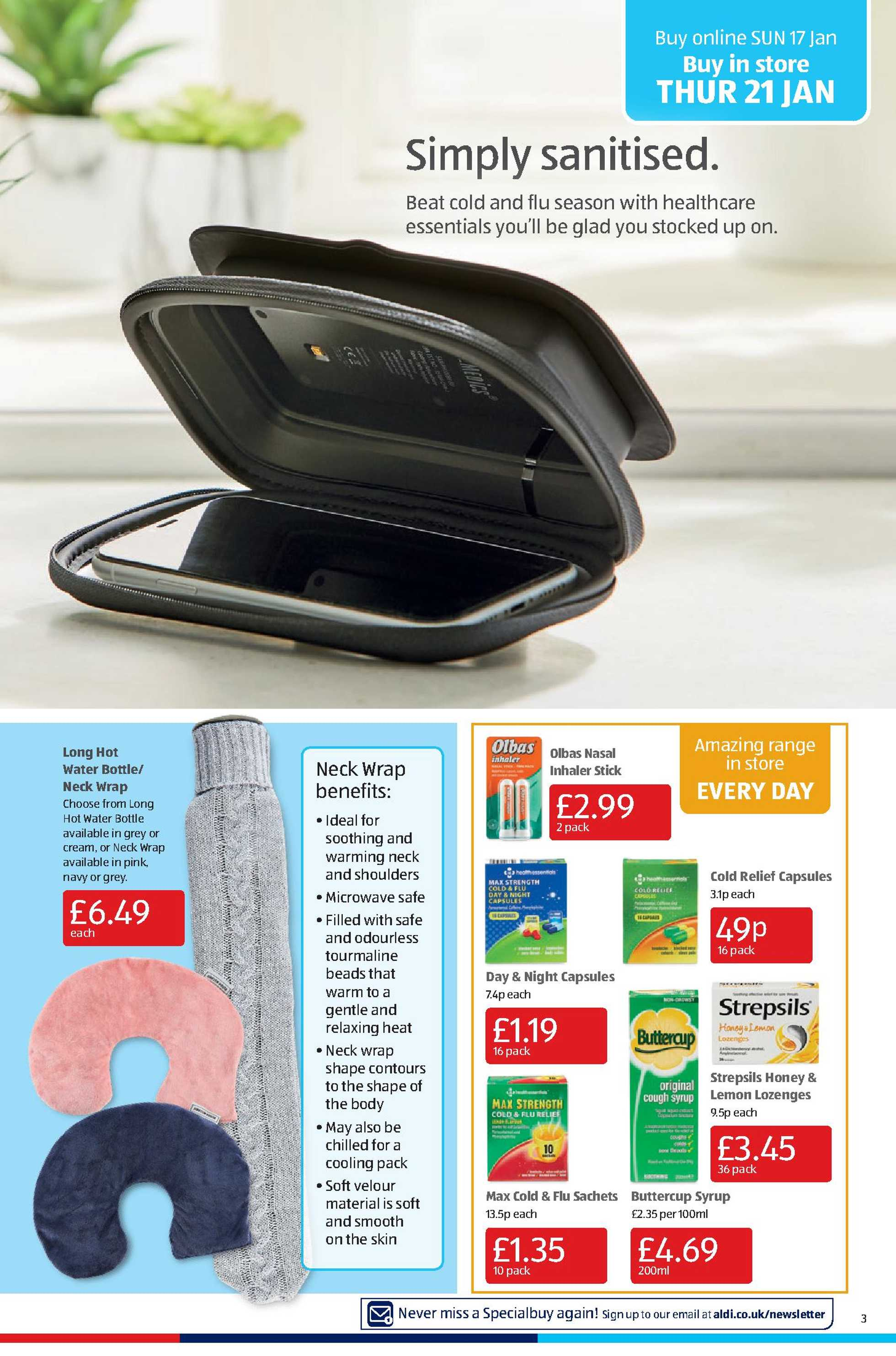 Aldi UK - deals are valid from 18.01.2021 to 24.01.2021 - page 3.
