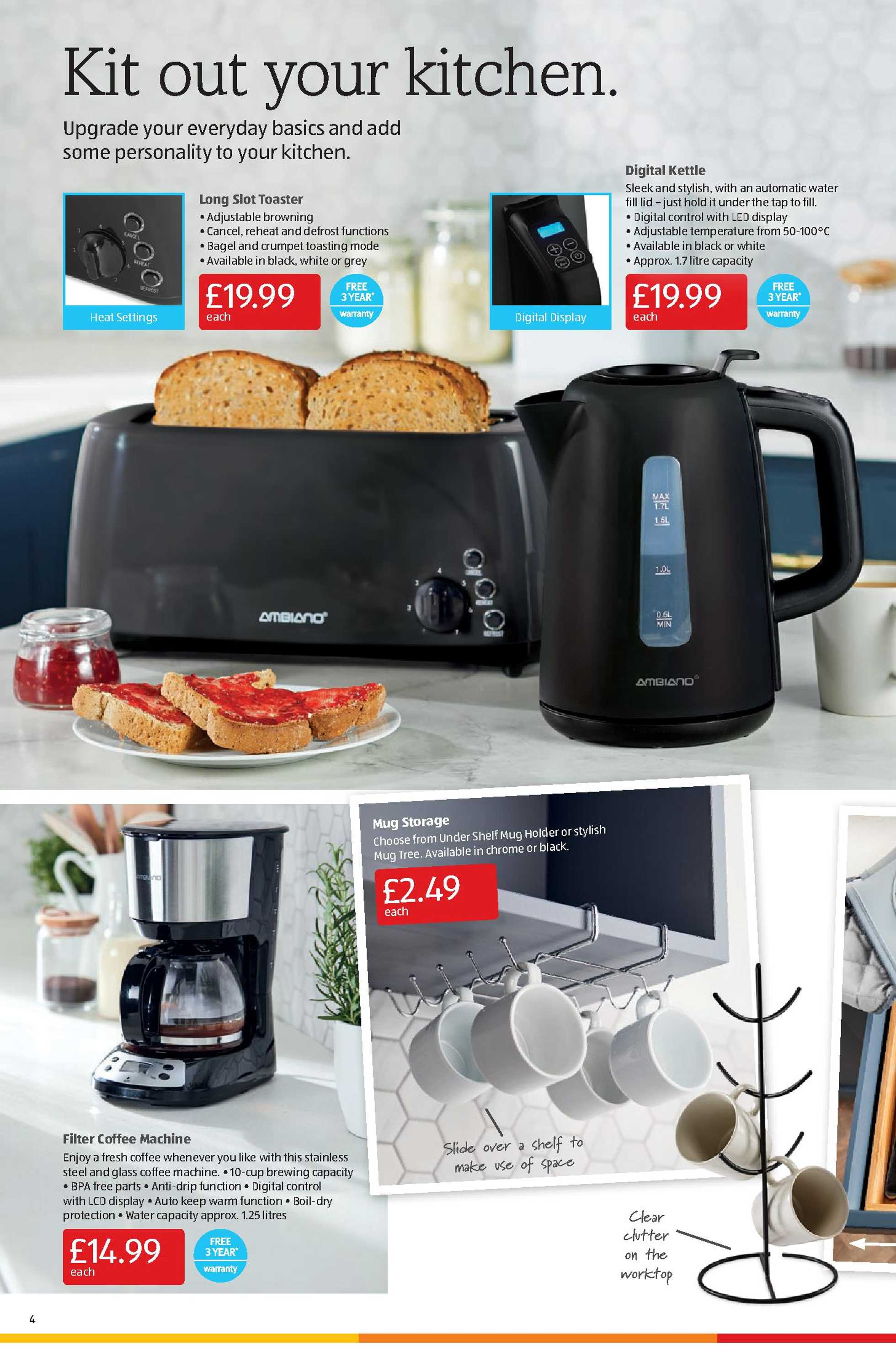 Aldi UK - deals are valid from 18.01.2021 to 24.01.2021 - page 4.