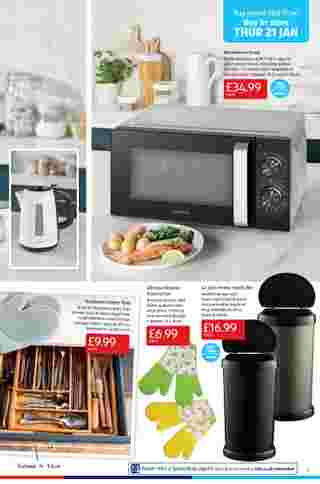 Aldi UK - deals are valid from 18.01.2021 to 24.01.2021 - page 5.