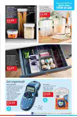 Aldi UK - deals are valid from 18.01.2021 to 24.01.2021 - page 7.