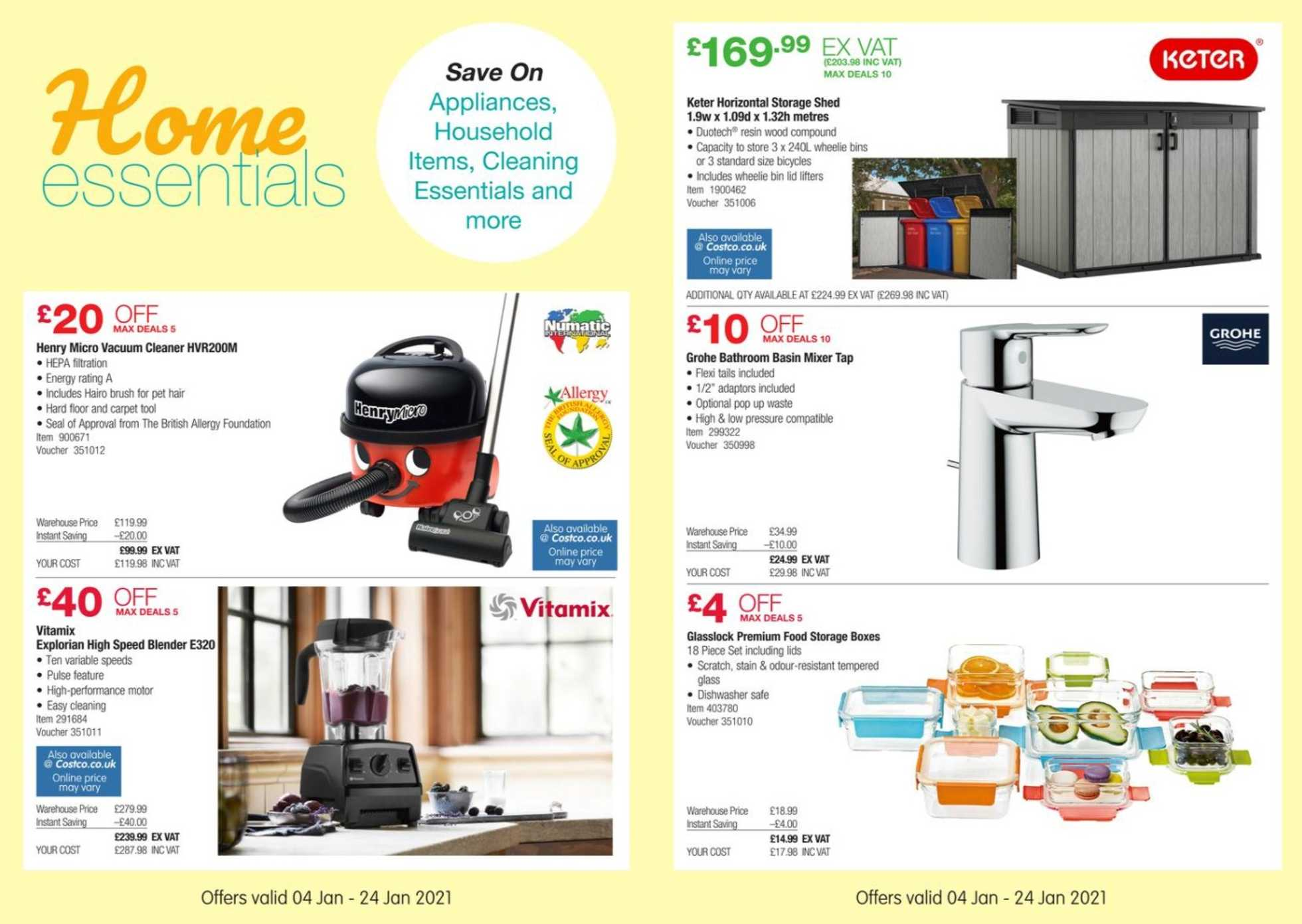 Costco - deals are valid from 04.01.2021 to 24.01.2021 - page 3.
