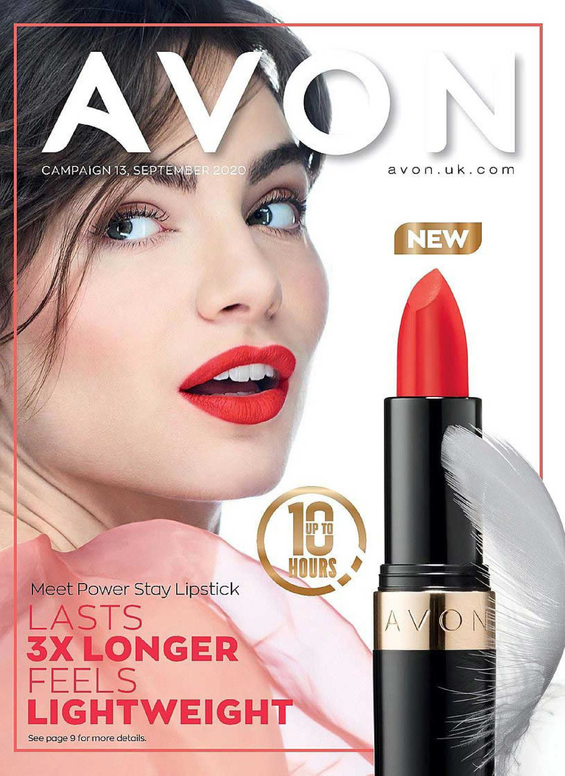 Avon - deals are valid from 01.09.2020 to 30.09.2020 - page 1.