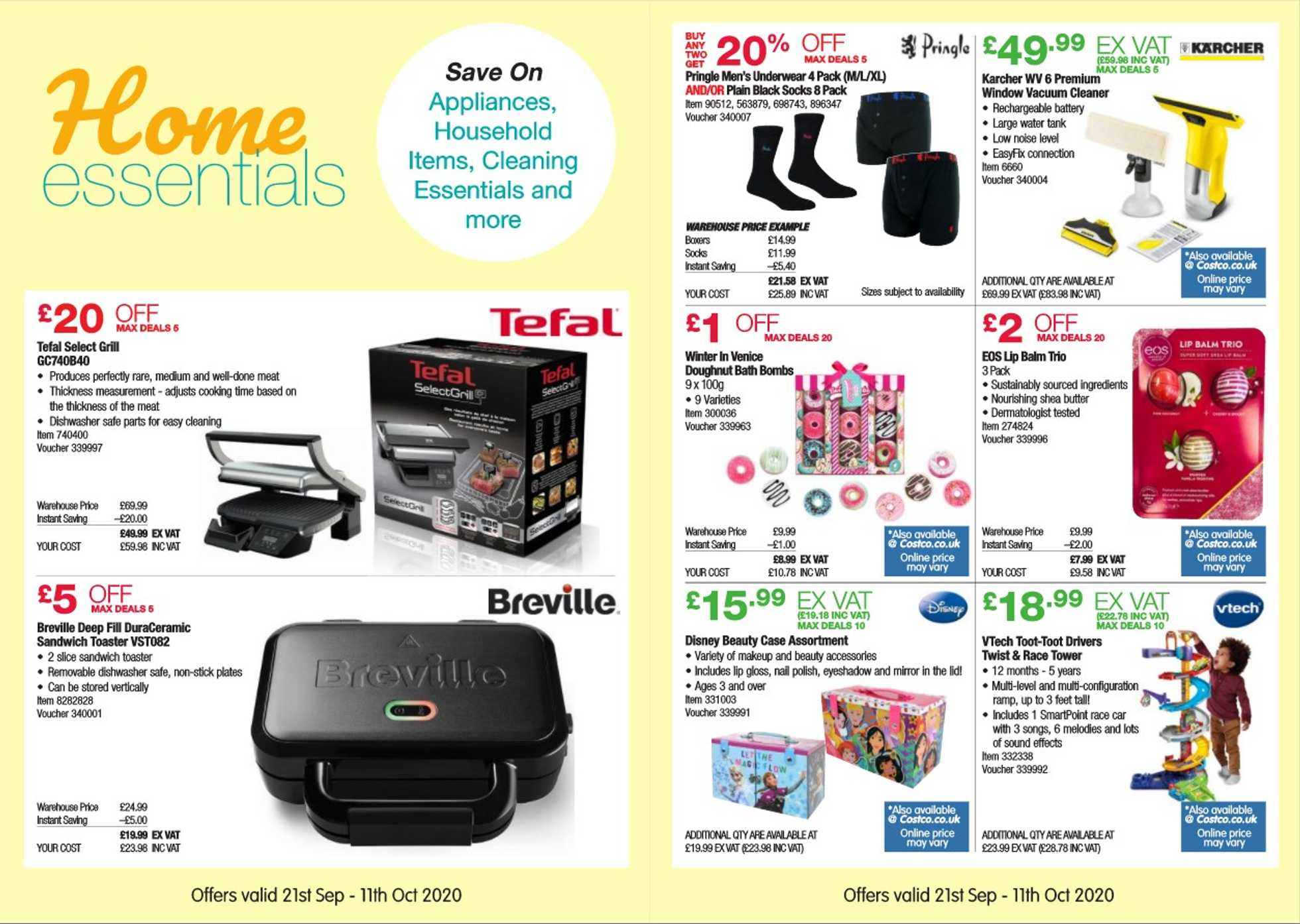 Costco - deals are valid from 21.09.2020 to 11.10.2020 - page 3.