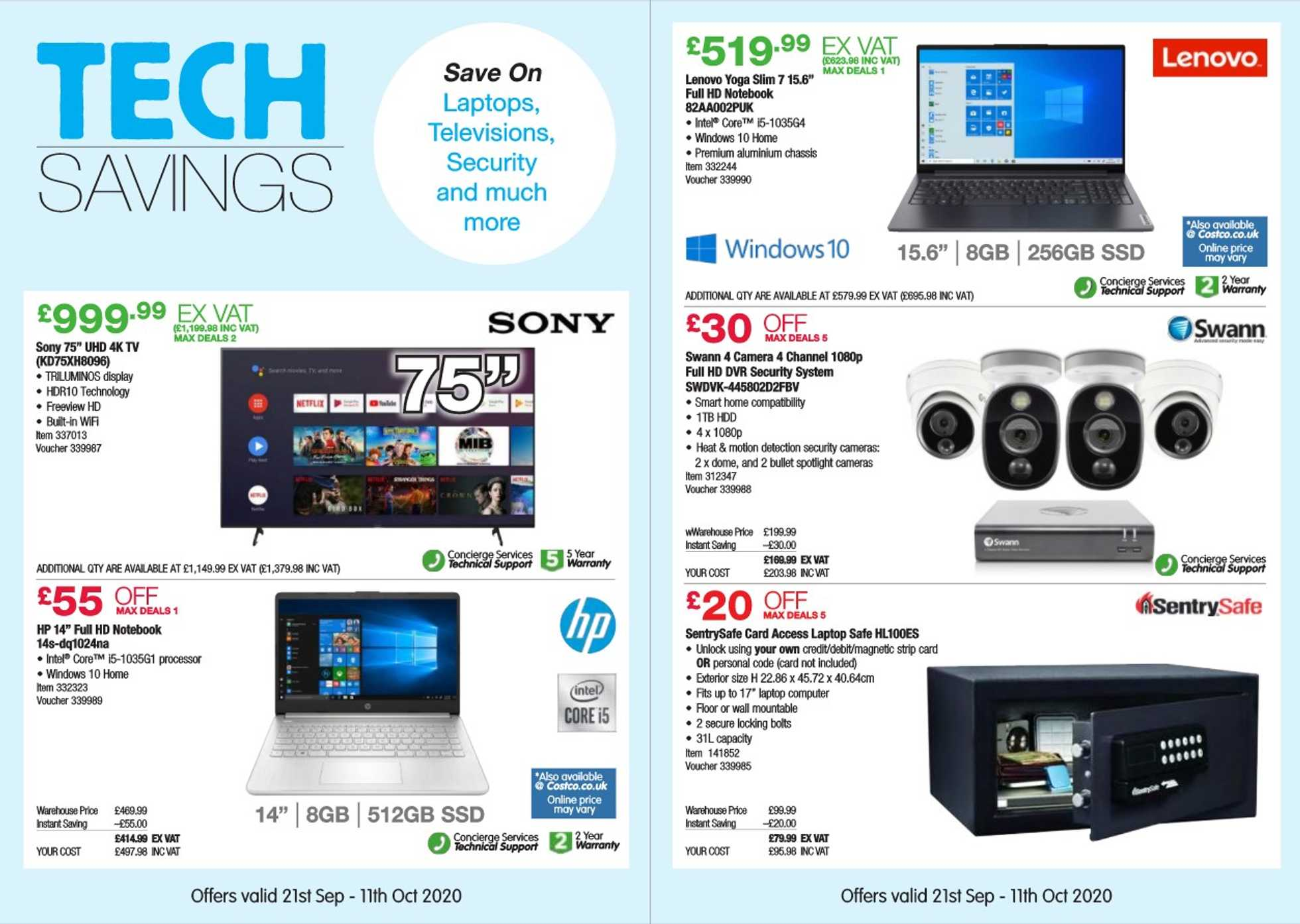 Costco - deals are valid from 21.09.2020 to 11.10.2020 - page 2.