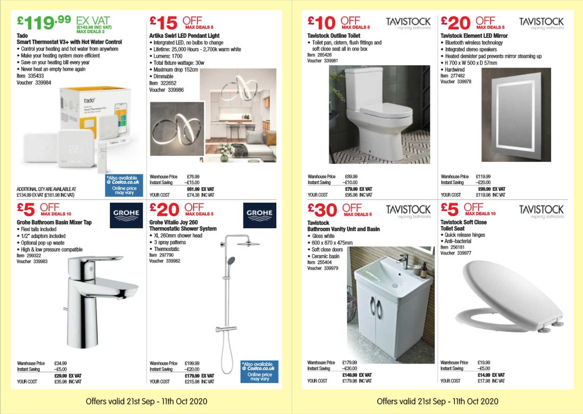 Costco - deals are valid from 21.09.2020 to 11.10.2020 - page 4.