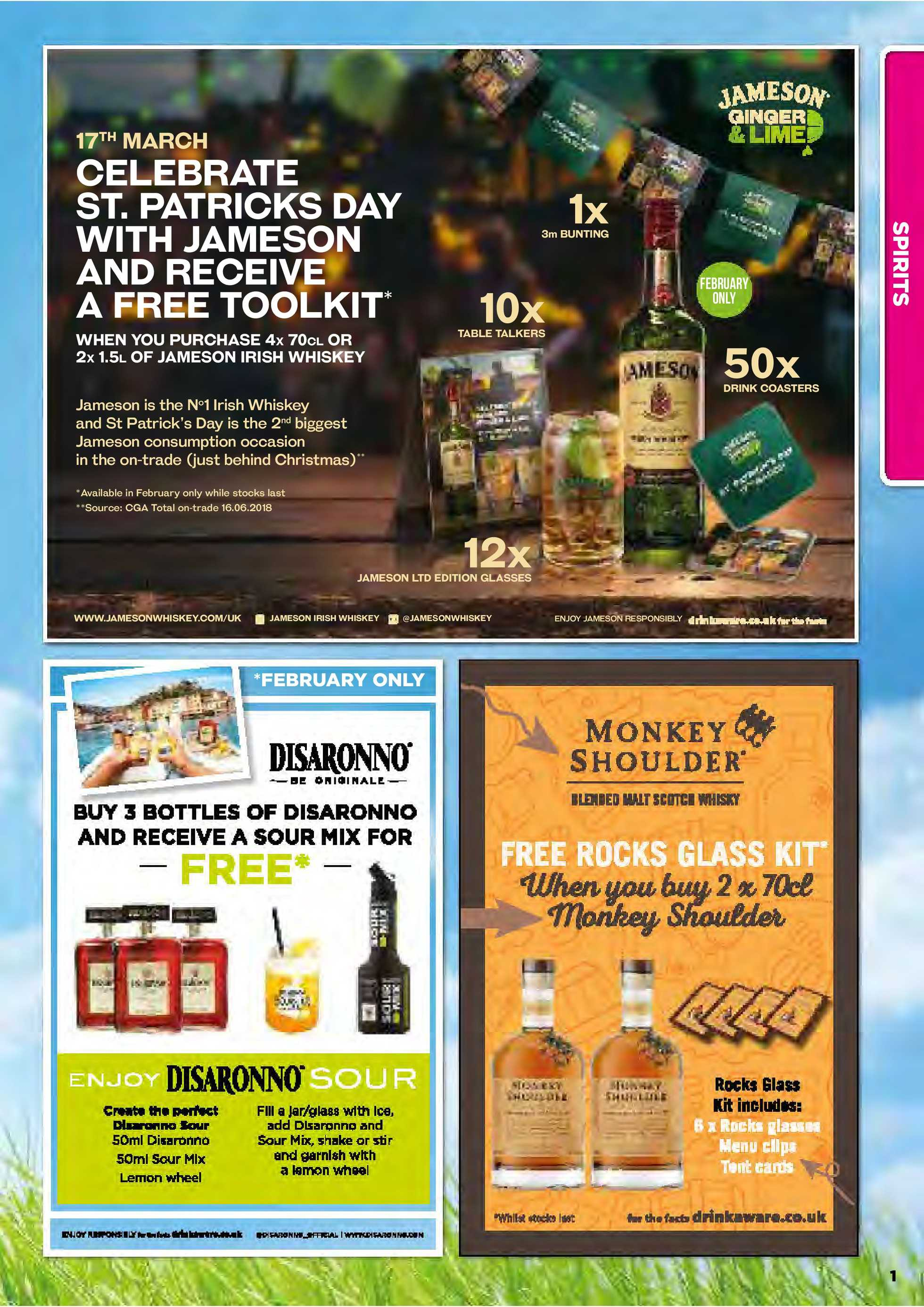 Primo Drinks - promo starting from 01.02.2019 to 30.04.2019 - page 3.