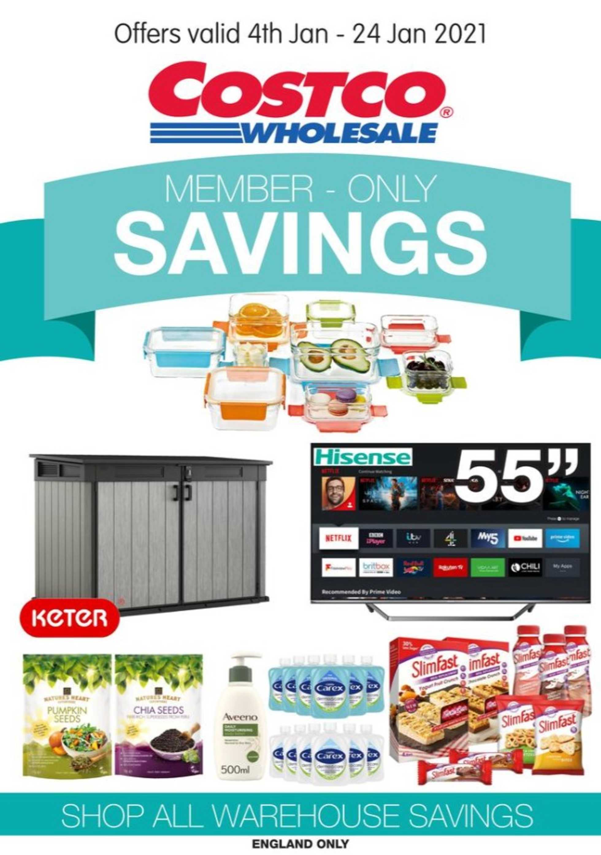 Costco - deals are valid from 04.01.2021 to 24.01.2021 - page 1.