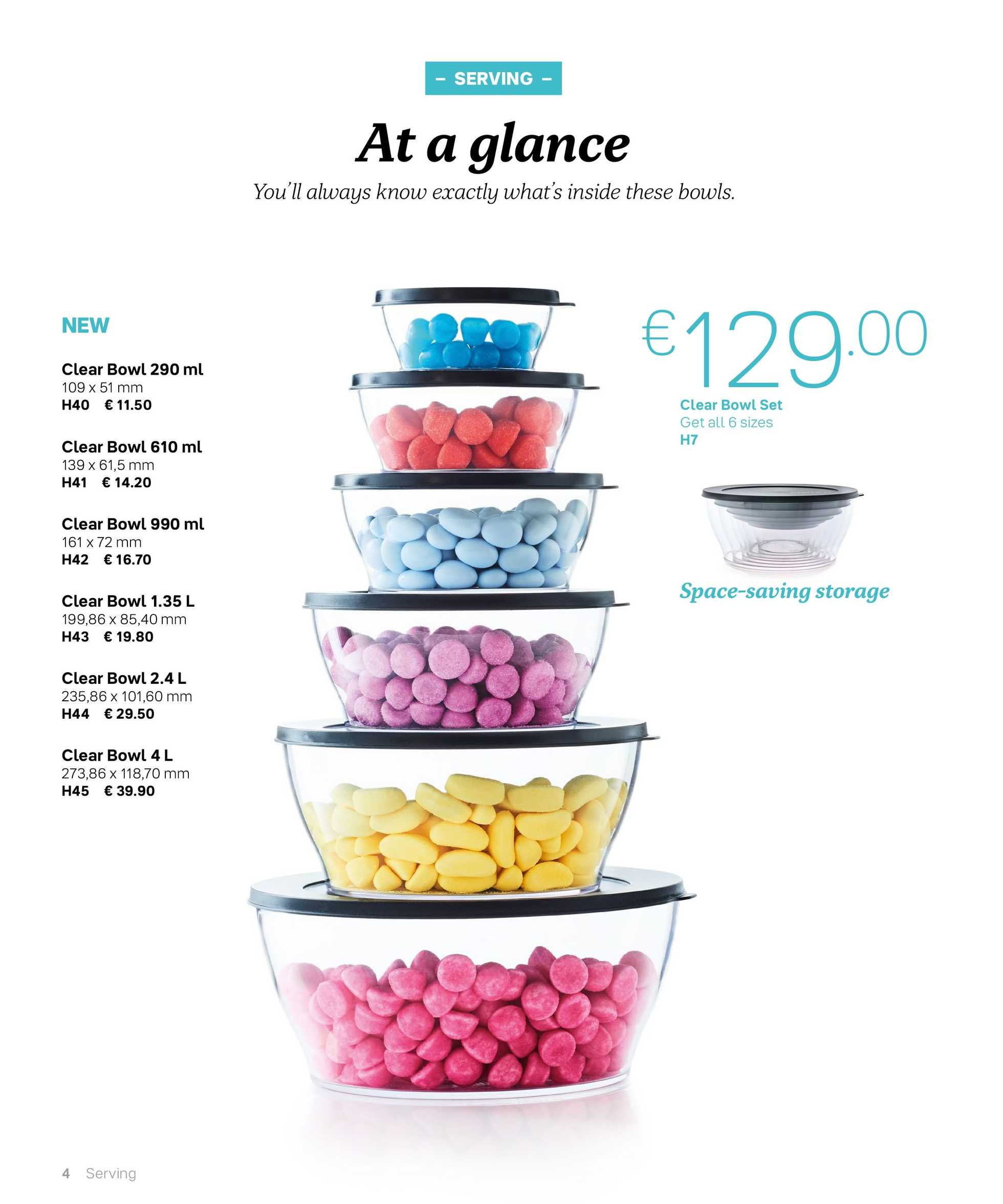 Tupperware - promo starting from 24.09.2019 to 29.02.2020 - page 4.