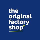 The original factory shop logo